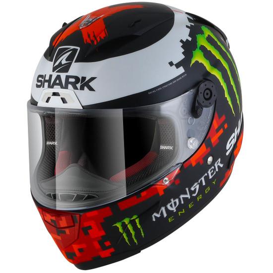 Casco SHARK Race-R Pro Replica Lorenzo Monster Mat 2018