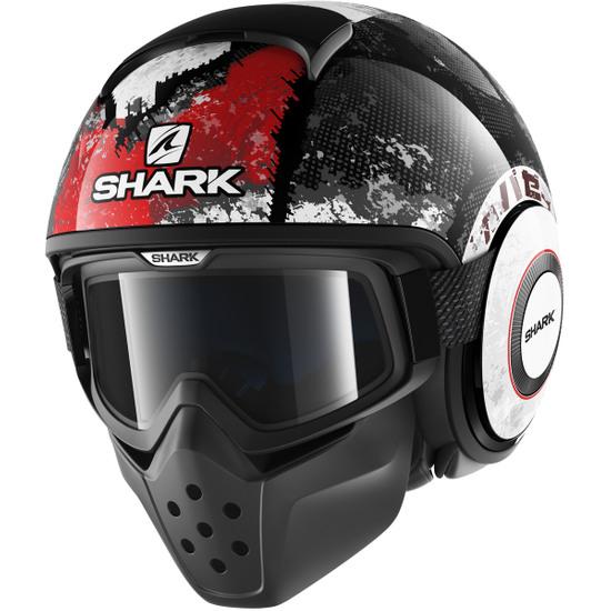 Capacete SHARK Drak Evok Black / Red / Anthracite