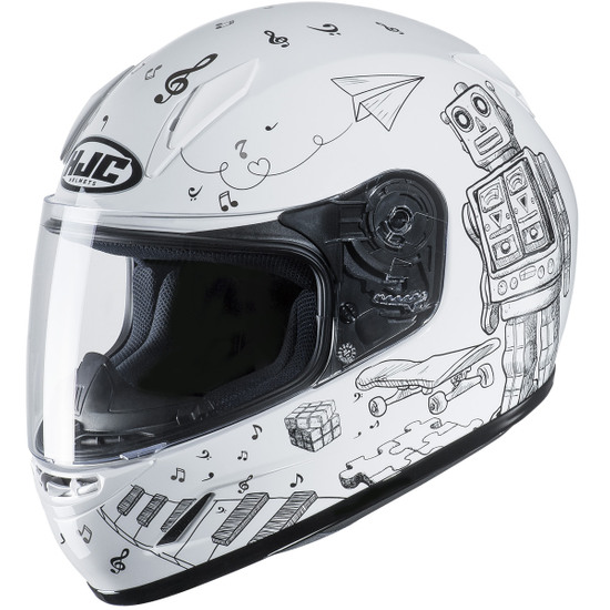 Helm HJC CL-Y Junior Wazo MC-10