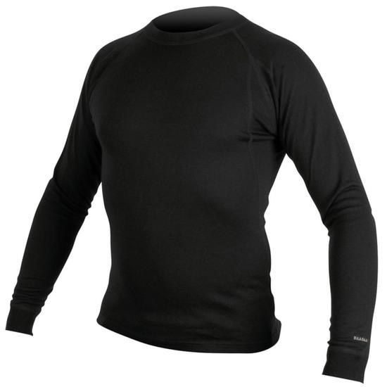 Unterwäsche ENDURA Merino L/S Base Layer Black