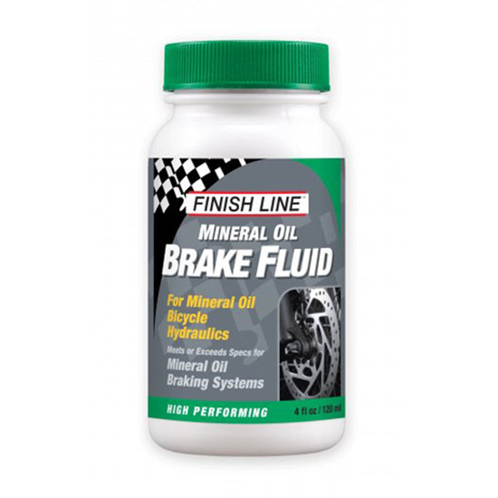 Werkstatt FINISH LINE Mineral Brake Fluid 4oz (120ml)