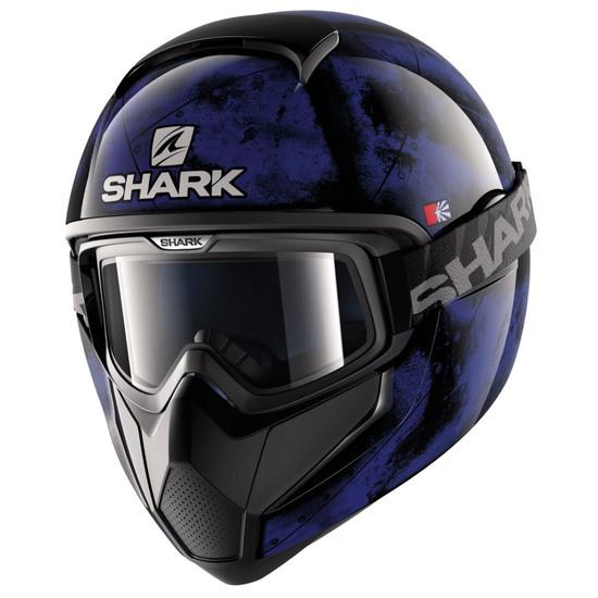 SHARK Vancore Flare Black / Blue / Black Helmet