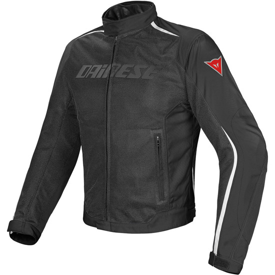Casaco DAINESE Hydra Flux D-Dry Black / White