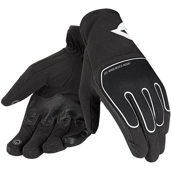 Guanto DAINESE Plaza D-Dry Black / White
