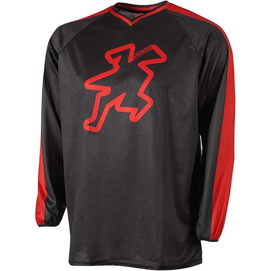Camiseta HEBO Baggy II Red
