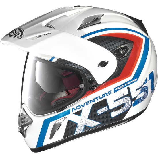 Casco X-LITE X-551 Adventure N-Com Metal White