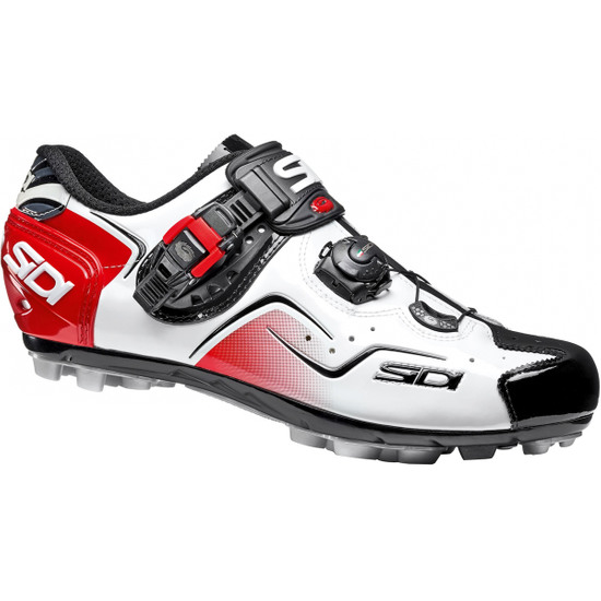 Schuhe SIDI MTB Cape White / Black / Red