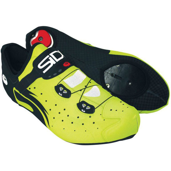 Zapatillas SIDI Lycra Wire Black / Yellow Fluo