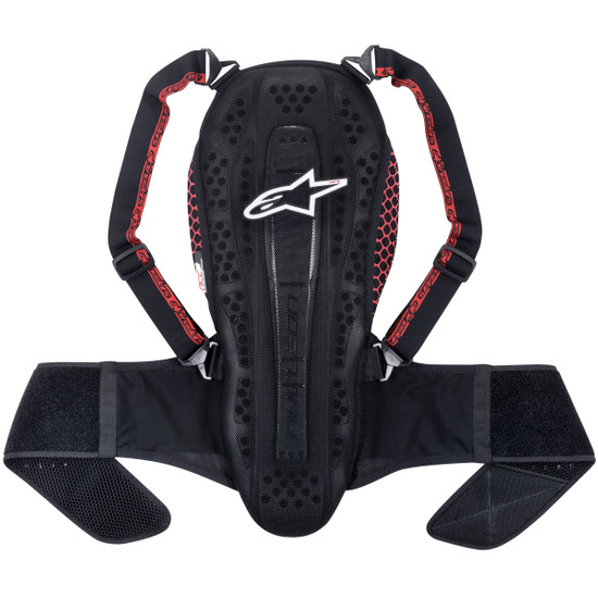 ALPINESTARS Nucleon KR-2 Black Smoke / Red Protection