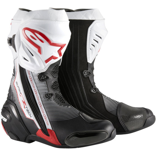 Bottes ALPINESTARS Supertech-R Black / Red / White