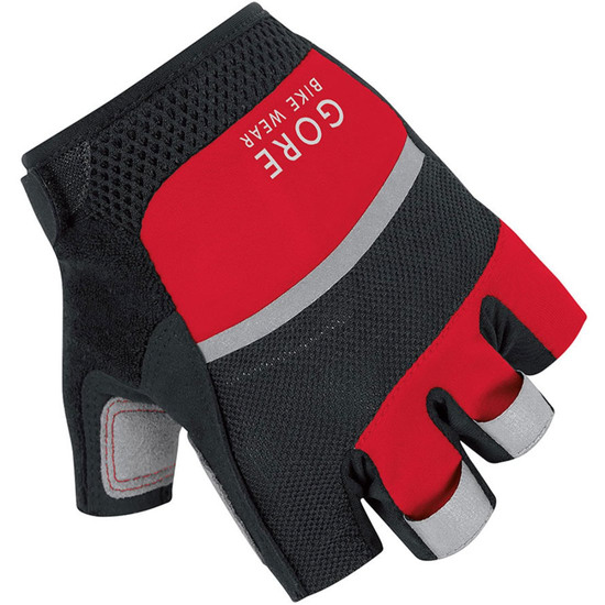 Guantes GORE Oxygen Black / Red