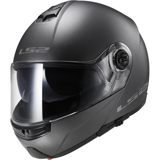 LS2 FF325 Strobe Matt Titanium Helmet