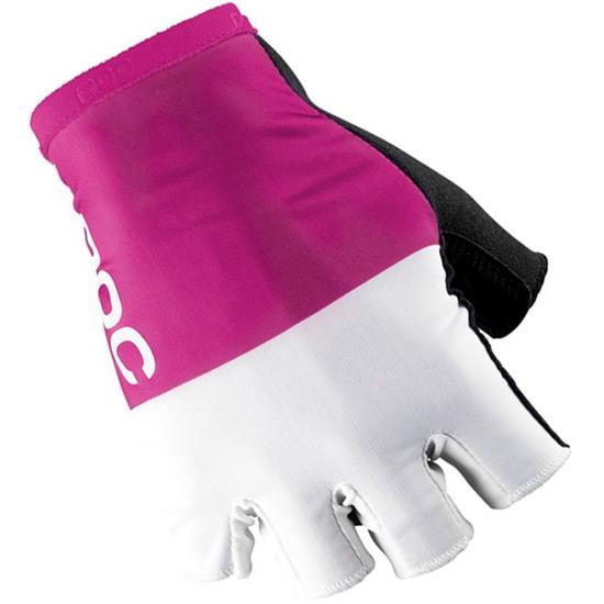 Luvas POC Raceday Fluorescent Pink / Hydrogen White