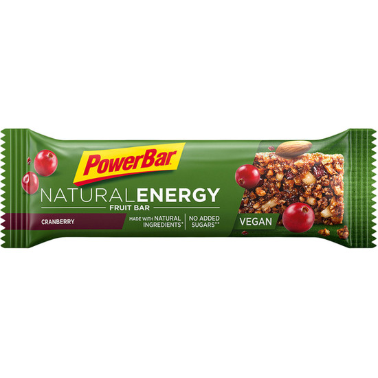 Nutrizione POWERBAR Natural Energy Fruit Bar Cranberry