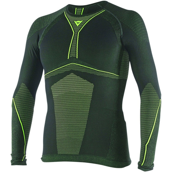 DAINESE D-Core Dry LS Black / Yellow Fluo Thermal