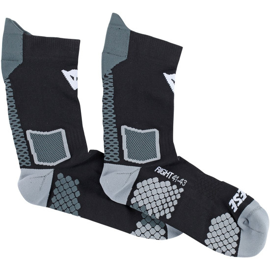 Chaussettes DAINESE D-Core Mid Black / Anthracite