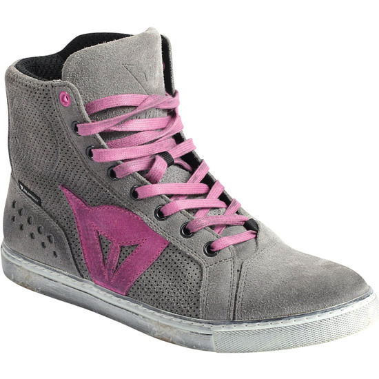 Stiefel DAINESE Street Biker Air Lady Gray / Orchid