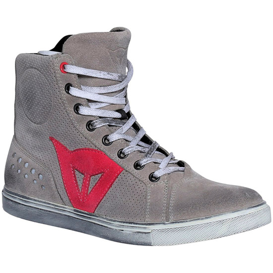 Botas DAINESE Street Biker Air Lady Light-Gray / Coral