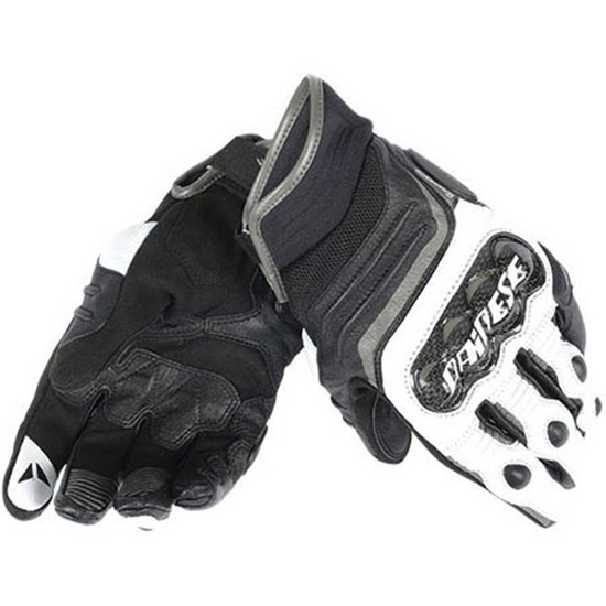 Handschuh DAINESE Carbon D1 Short Black / White / Anthracite