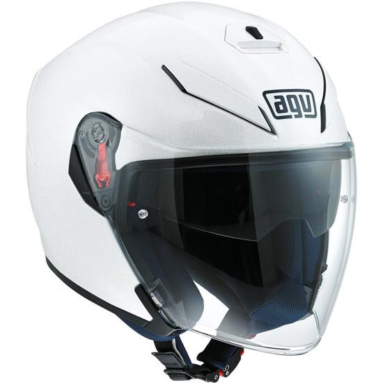AGV K-5 Jet Pearl White Helmet