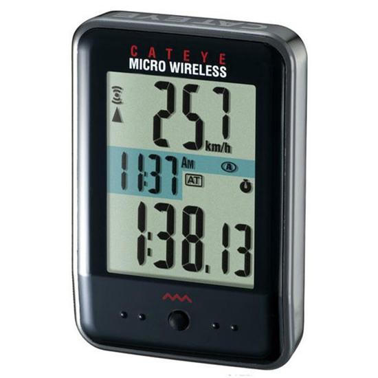 Cuentakilómetros CATEYE CC-MC200W Micro Wireless Black