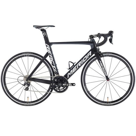 MERIDA Reacto DA 2016 Black / Grey Road bike