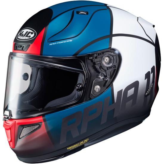 Helm HJC RPHA 11 Quintain MC-21SF