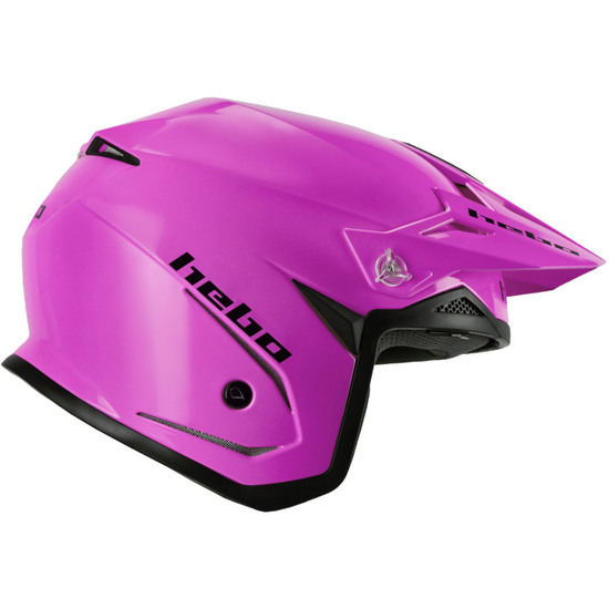 Casco HEBO Zone 5 Monocolor Pink