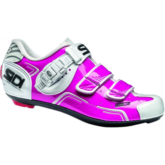 Chaussures SIDI Level Lady Fucshia / White