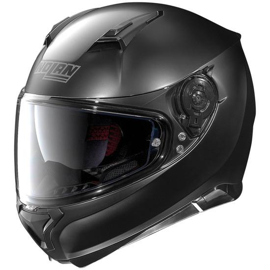 Helm NOLAN N87 Classic N-Com Flat Black