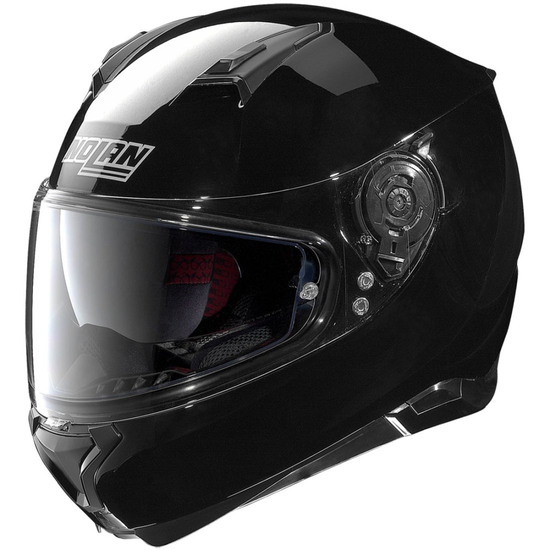 NOLAN N87 Classic N-Com Glossy Black Helmet