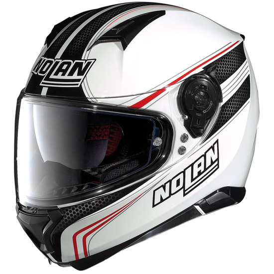 Casco NOLAN N87 Rapid N-Com Metal White