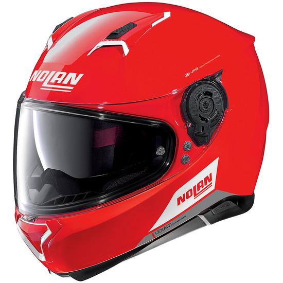 Helm NOLAN N87 Emblema N-Com Corsa Red