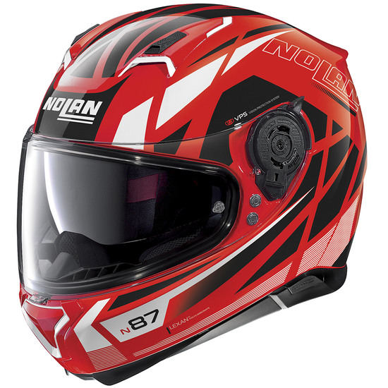 Helm NOLAN N87 Originality N-Com Corsa Red