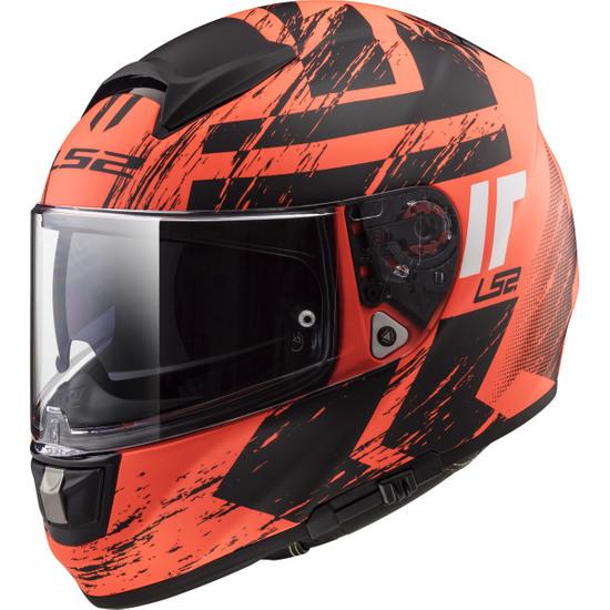 Helm LS2 FF397 Vector HPFC Evo Hunter Matt Orange / Black