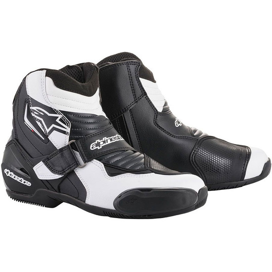 ALPINESTARS SMX-1 R Black / White Graphic Boots
