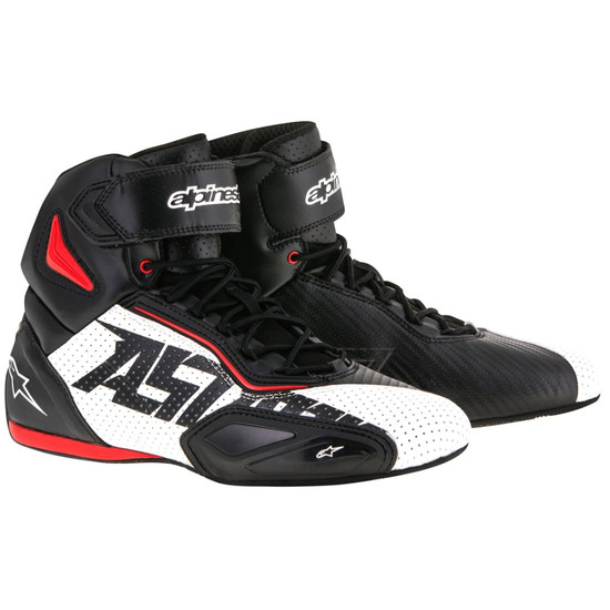 Botas ALPINESTARS Faster-2 Vented Black / White / Red