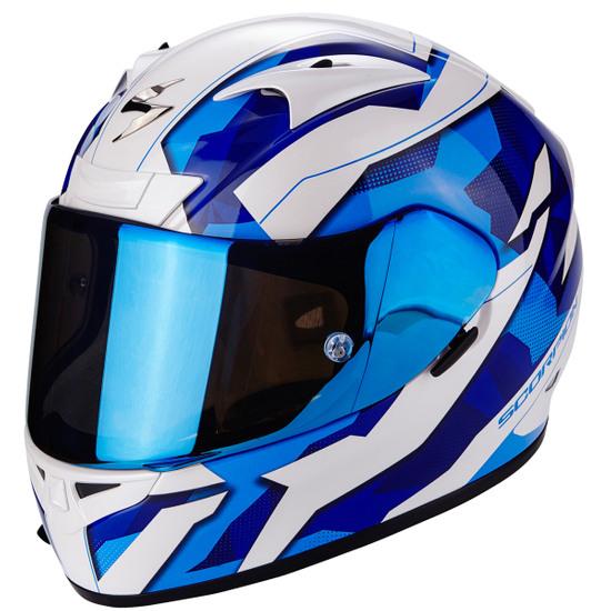 SCORPION Exo-710 Air Furio Blue Helmet
