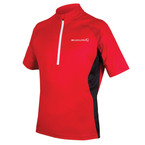 ENDURA Xtract II S/S Jersey Red