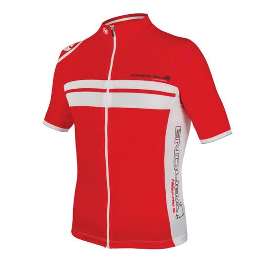 ENDURA FS260-Pro SL Lite S/S Jersey Red Jersey