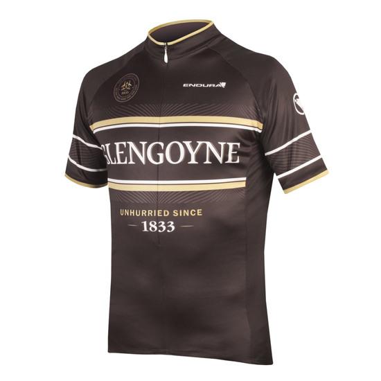Bike Trikot ENDURA Glengoyne Whisky Jersey Black