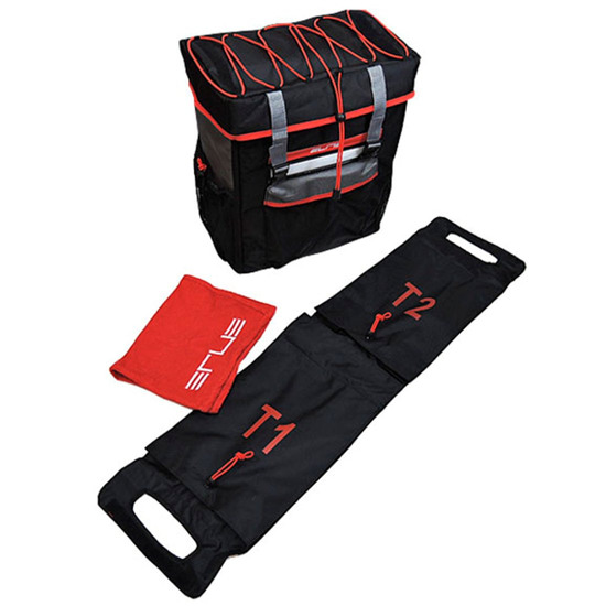 Bolsa / Mochila ELITE Tri Box Black / Red