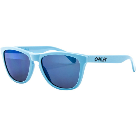 Masque / Lunettes OAKLEY Frogskins Heritage Collection Polished Blue / Ice Iridium