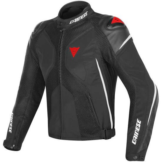 Casaco DAINESE Super Rider D-Dry Black / White / Red
