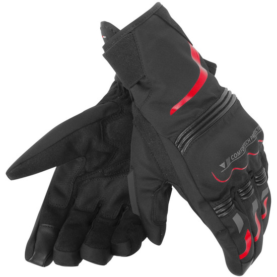 Handschuh DAINESE Tempest D-Dry Short Black / Red