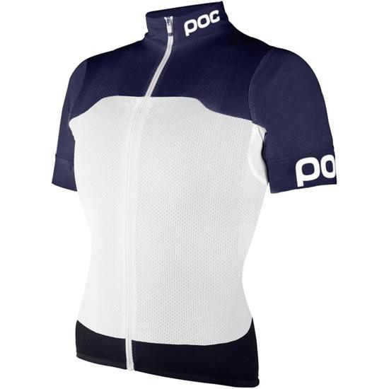 Maillot POC Raceday Climber Navy Black / Hydrogen White