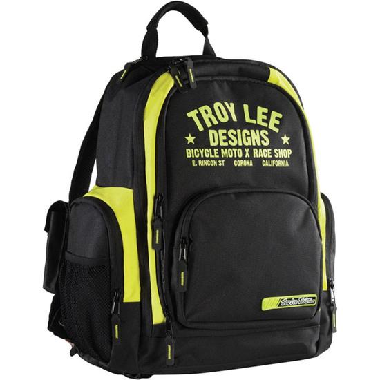 TROY LEE DESIGNS Basic Raceshop Yellow Bag / Back pack