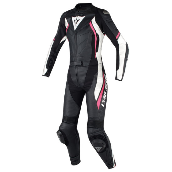 DAINESE Avro D2 Lady Black / White / Fuxia Suit