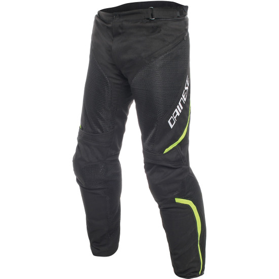 DAINESE Drake Air D-Dry Black / Yellow Fluo Pant