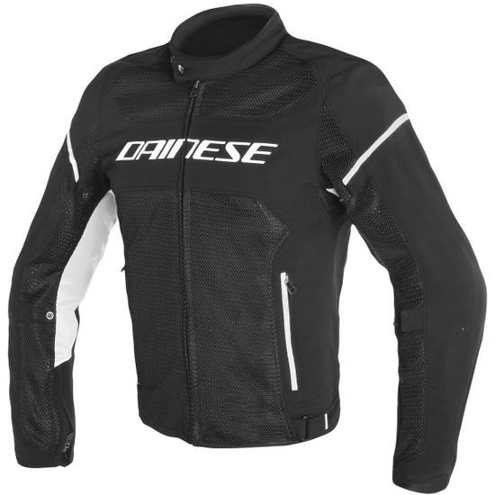 DAINESE Air Frame D1 Tex Black / White Jacket